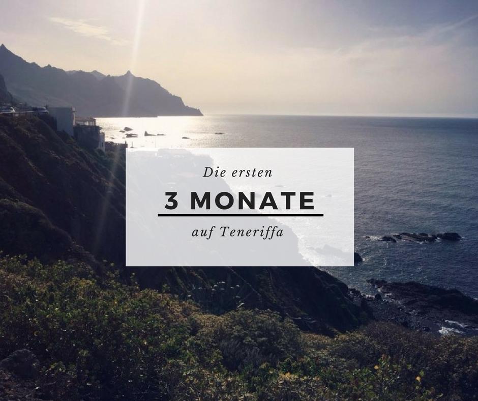 3 Monate auf Teneriffa: Leben und Arbeiten auf der Insel