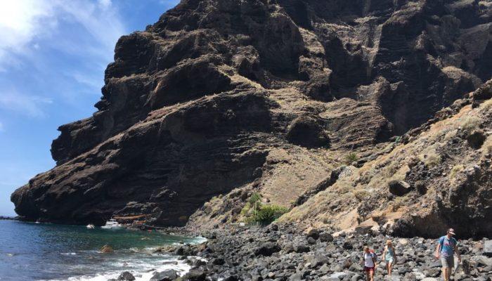 Diese Bucht wartet am Ende der Masca-Wanderung auf Teneriffa
