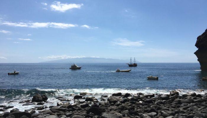 Die Bucht am Ende der Masca Schlucht auf Teneriffa
