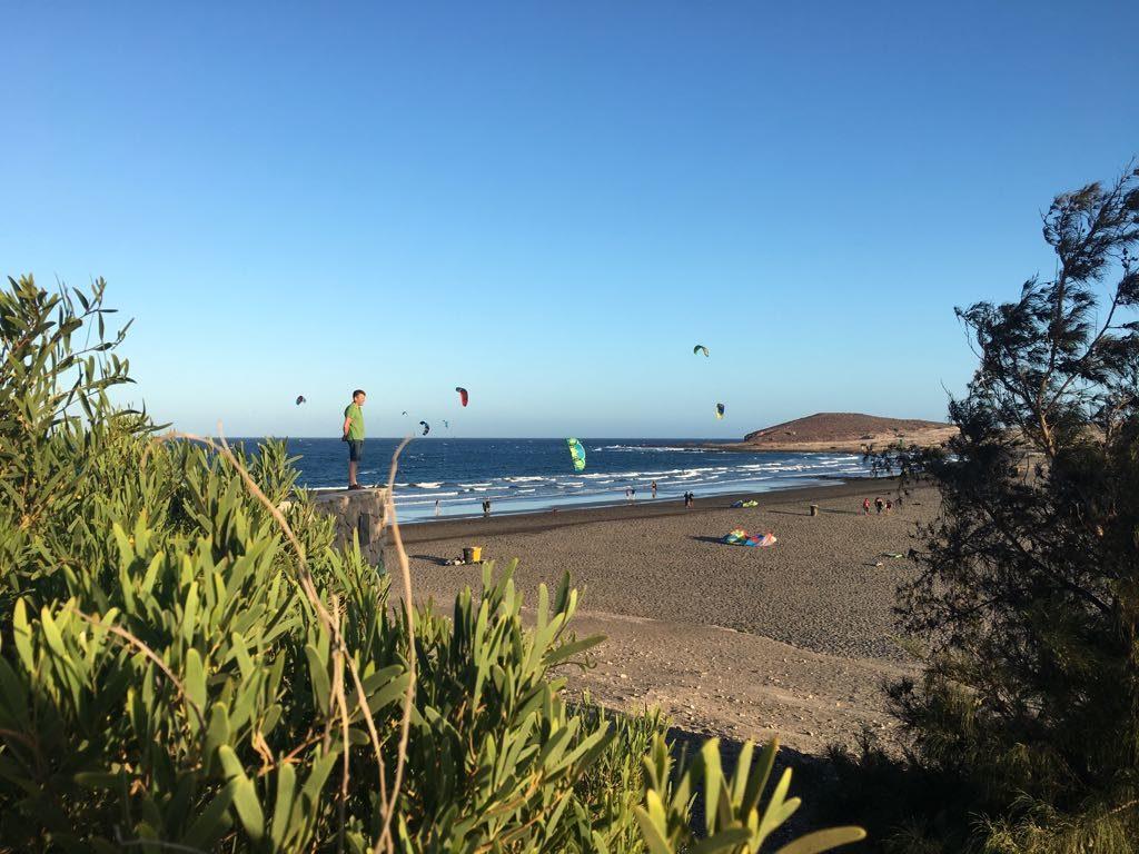 Der Kitesurf-Strand von El Médano