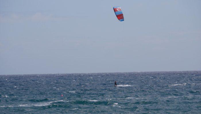 David von Zanderfang liebt das Kitesurfen auf Teneriffa