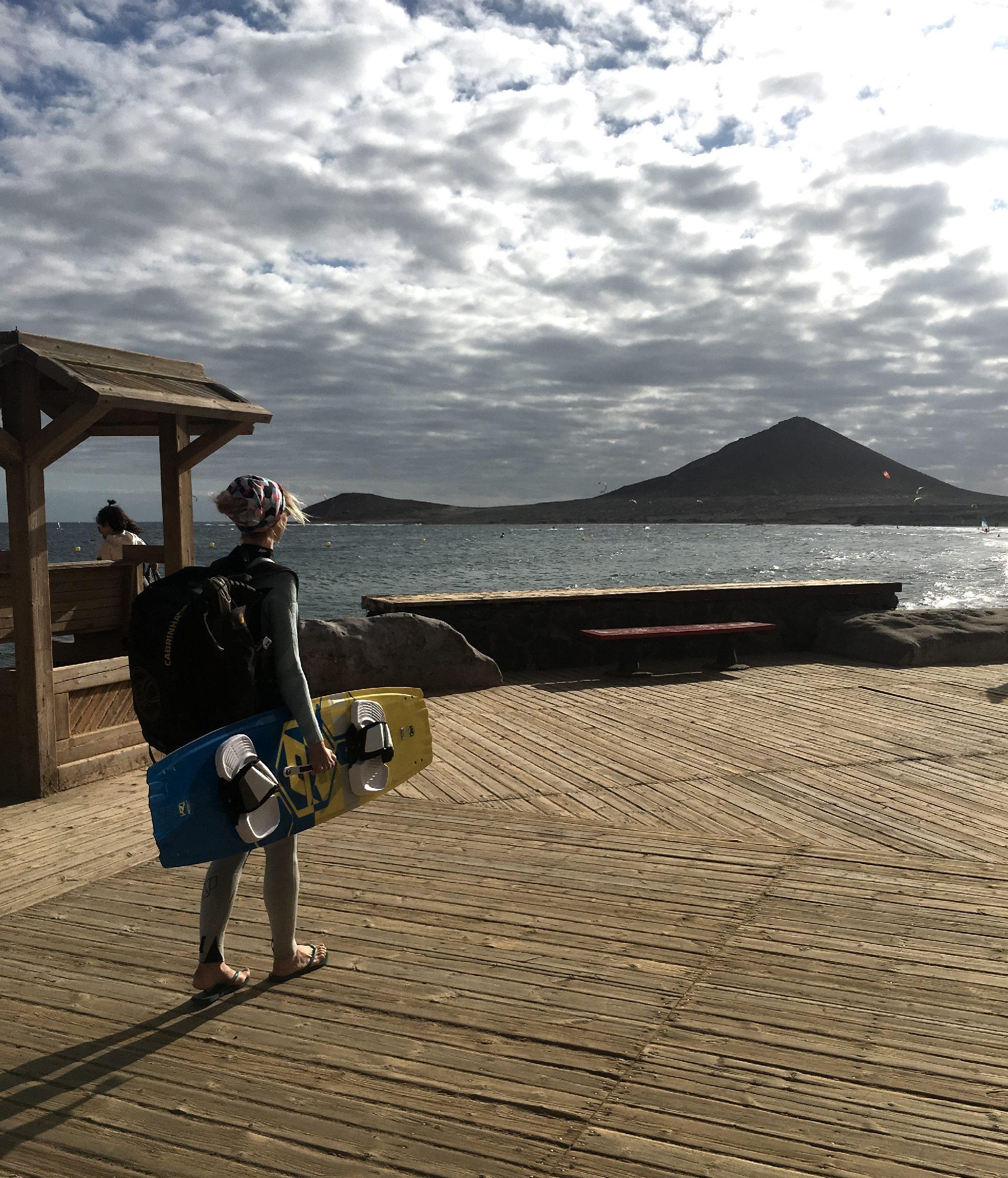 Kitesurfen in El Medano