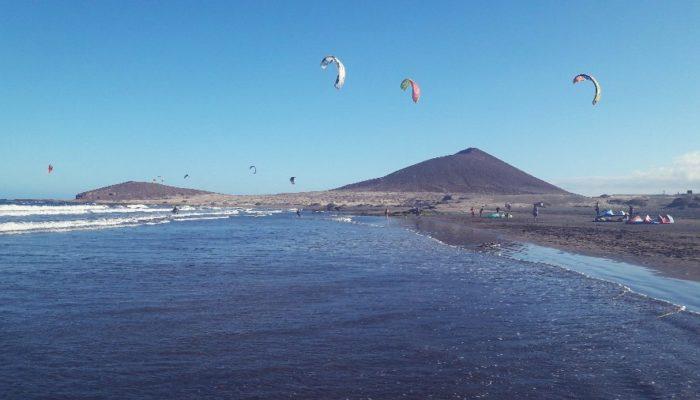 Leben auf Teneriffa- der Strand in El Medano