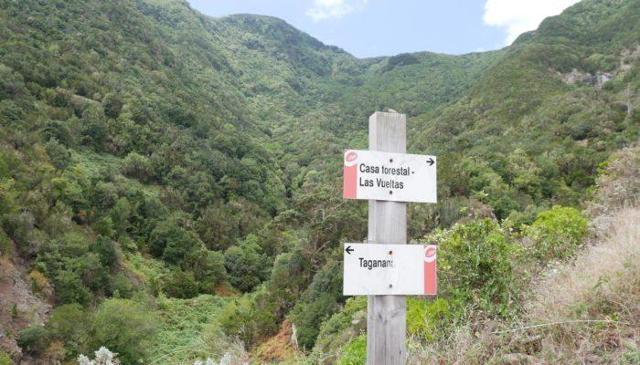 Leben auf Teneriffa:  Wanderungen im Anaga-Gebirge