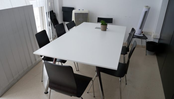 Der Meeting-Raum im Coworking Nomad in Santa Cruz de Tenerife.