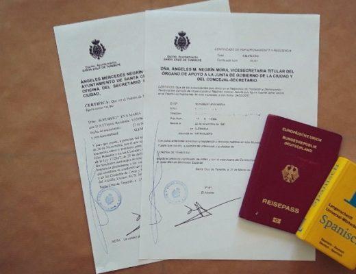 Empadronamiento - die Meldebescheinigung, die Auswanderer in Spanien brauchen