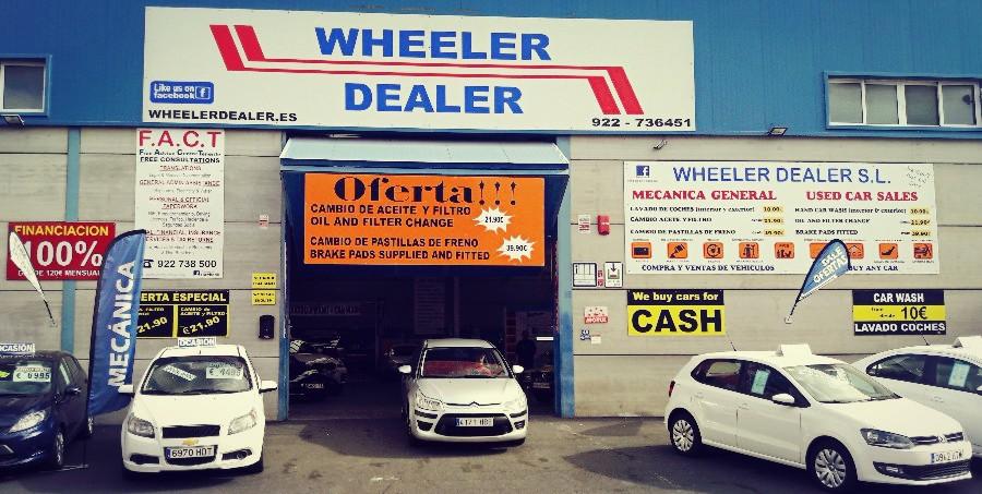 Autokauf auf Teneriffa beim Autohändler Wheeler Dealer