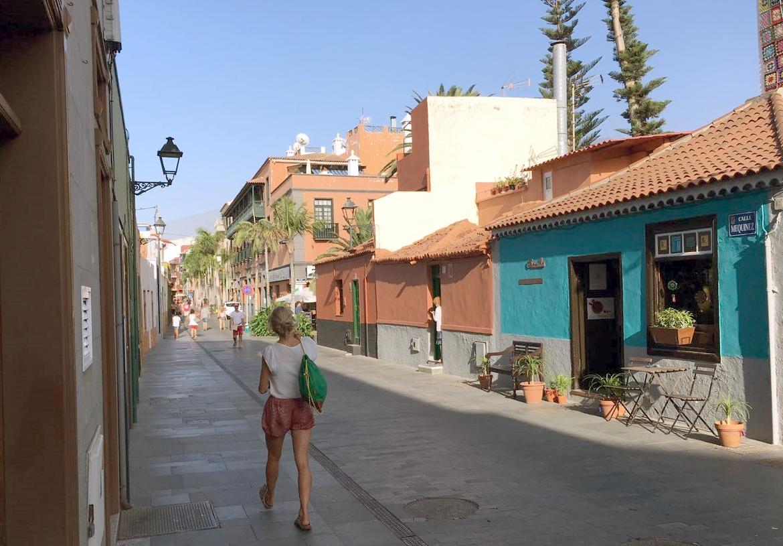 Die Gassen von Puerto de la Cruz