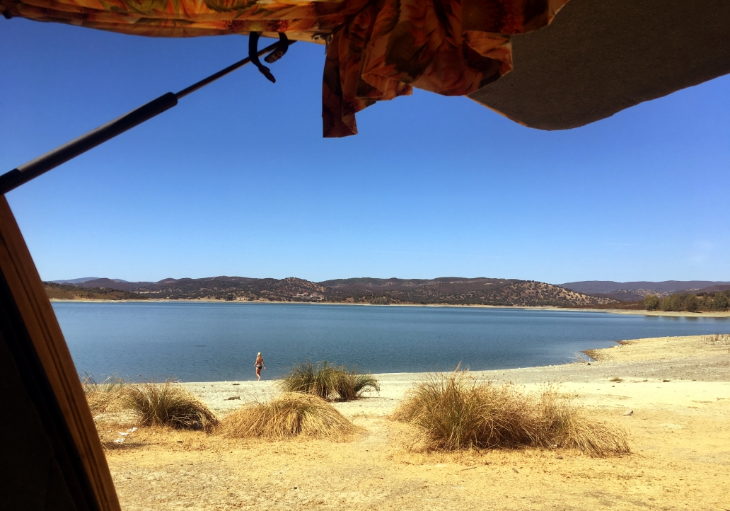 See bei Aracena in Spanien