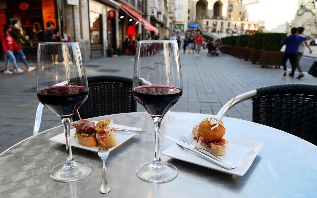 Wein und Tapas in Vitoria-Gasteiz