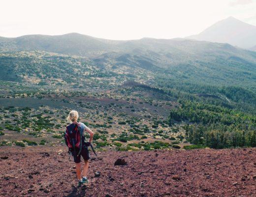 Wanderung auf den Berg Limon mit Blick auf den Teide