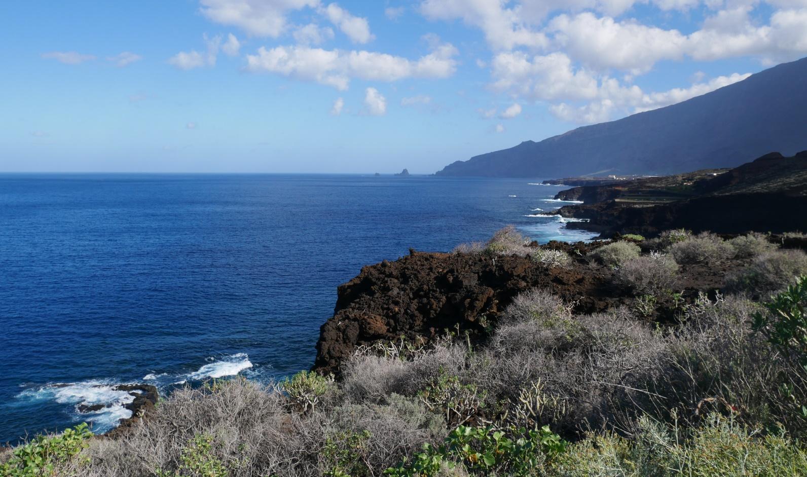 El Hierro bietet viele schöne Küstenabschnitte