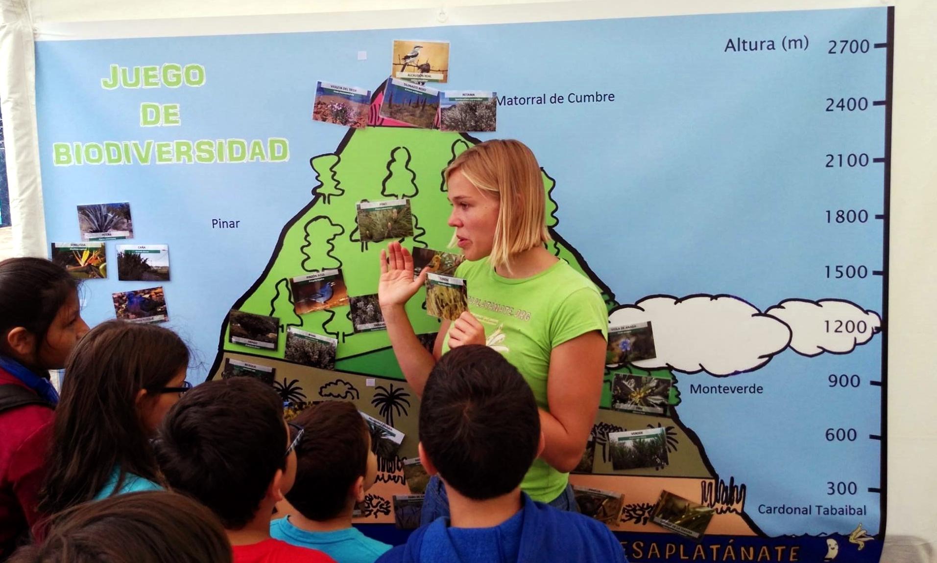 Auswanderin Tanja arbeitet nicht nur als Tourguide auf Teneriffa, sondern engagiert sich auch ehrenamtlich.