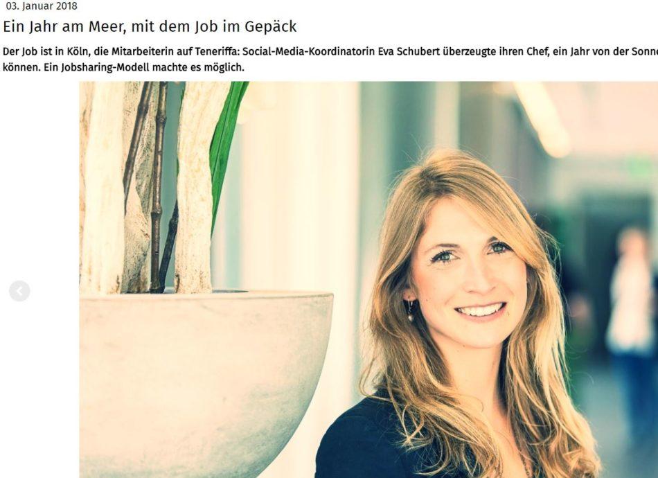 Gastbeitrag über Eva von AufderSonnenseite.de im NewWorkStories-Blog