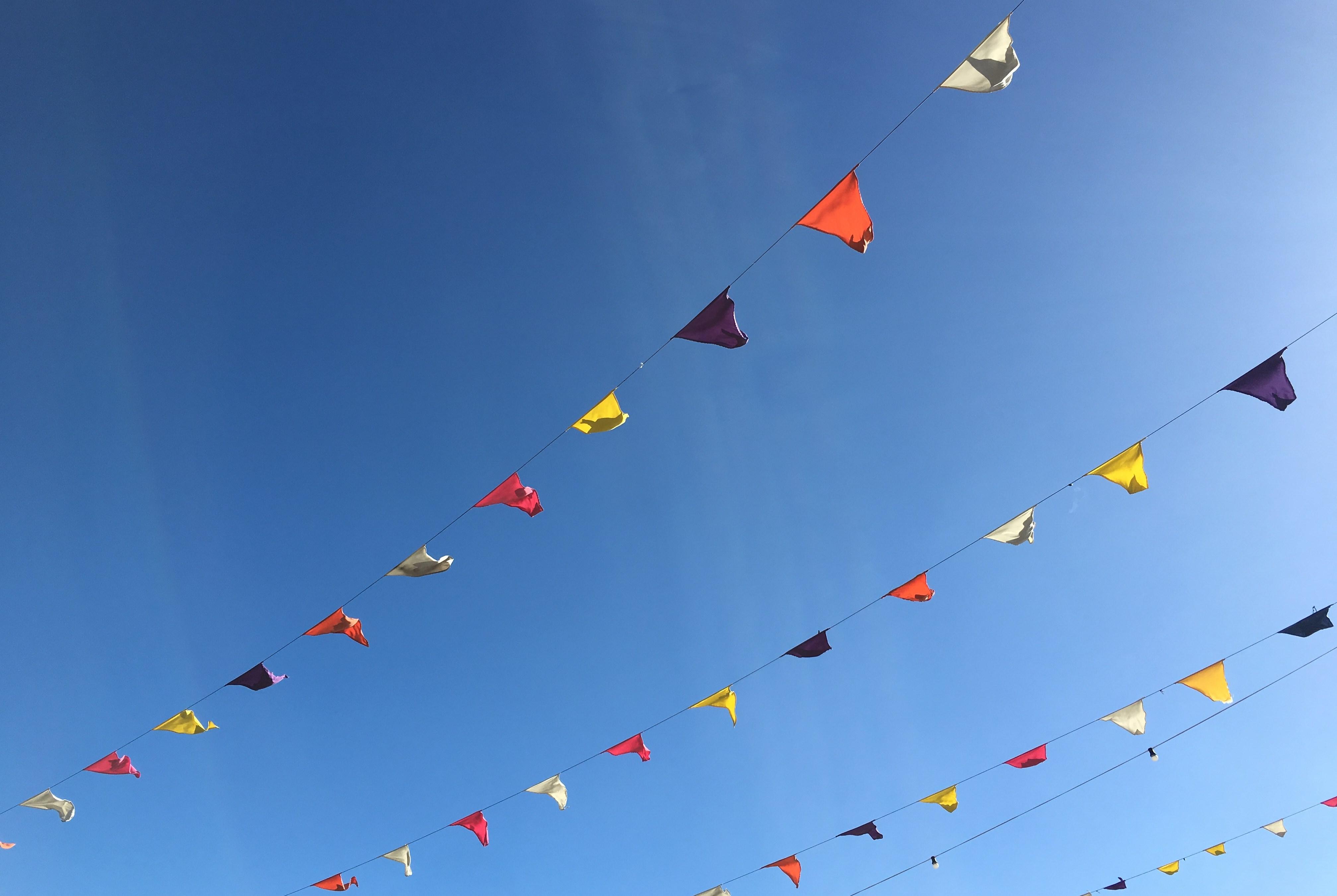 Blauer Himmel und Sonnenschein - selbst im Winter ist das Wetter auf Teneriffa gut.
