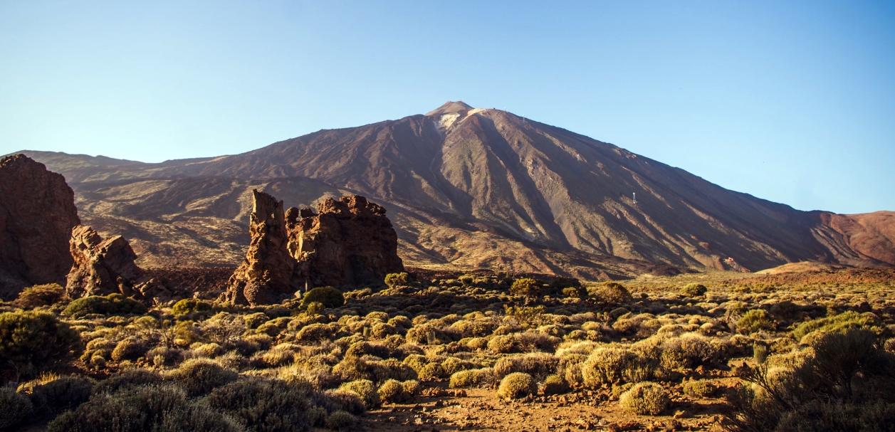 Top-Sehenswürdigkeit auf Teneriffa ist der Teide.
