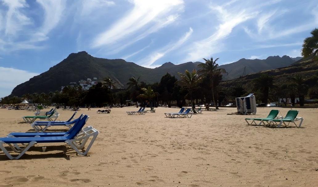 Playa Las Teresitas bei Santa Cruz de Tenerife