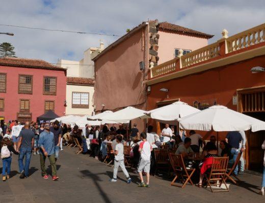 Die schöne Innenstadt von La Laguna