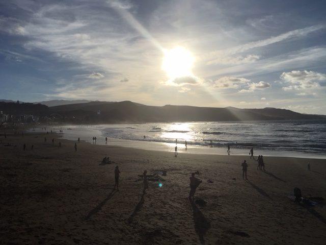 Sonnenuntergang in Las Palmas de Gran Canaria
