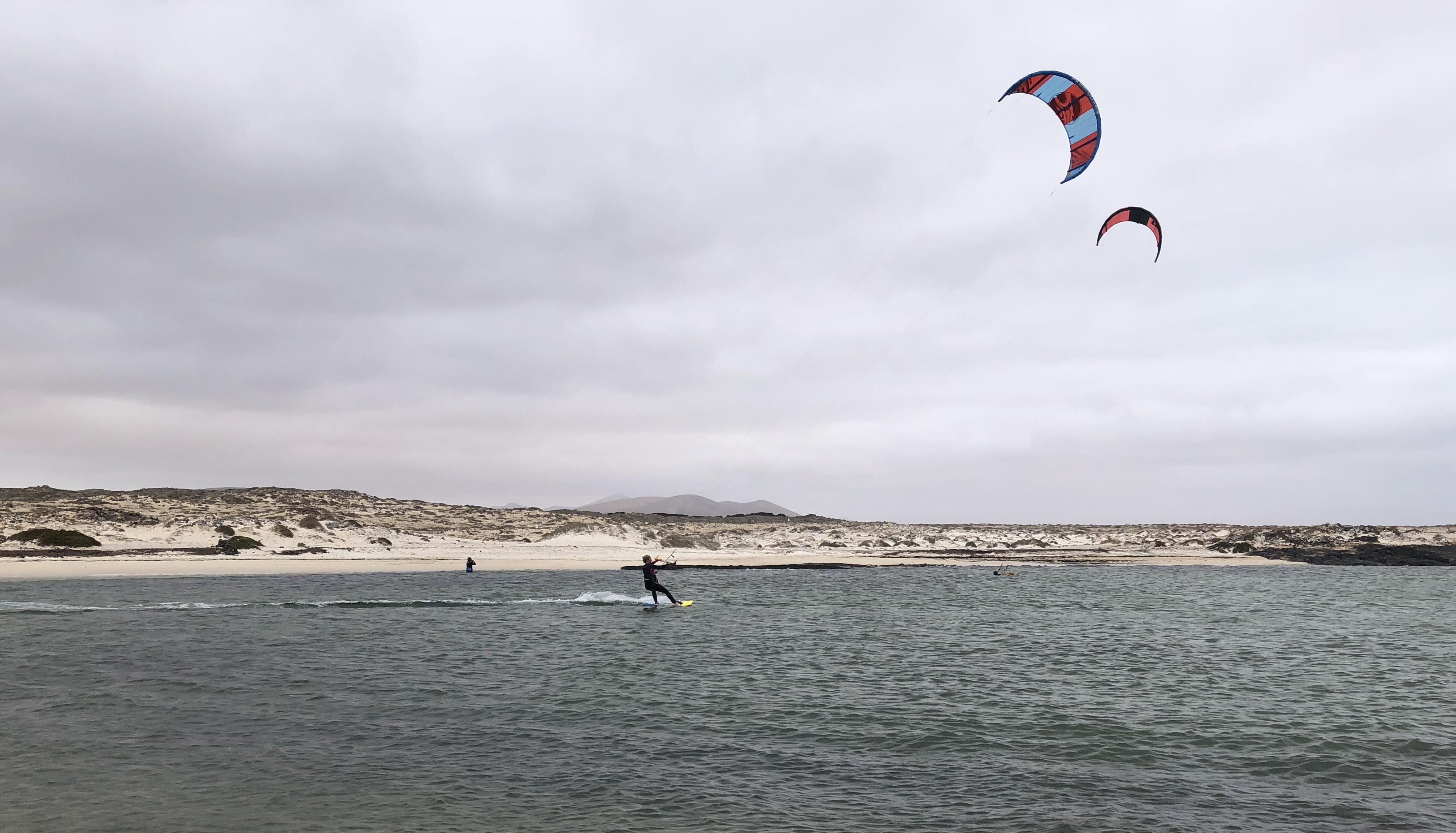El Cotillo Kite surfen: Sehenswürdigkeiten auf Fuerteventura