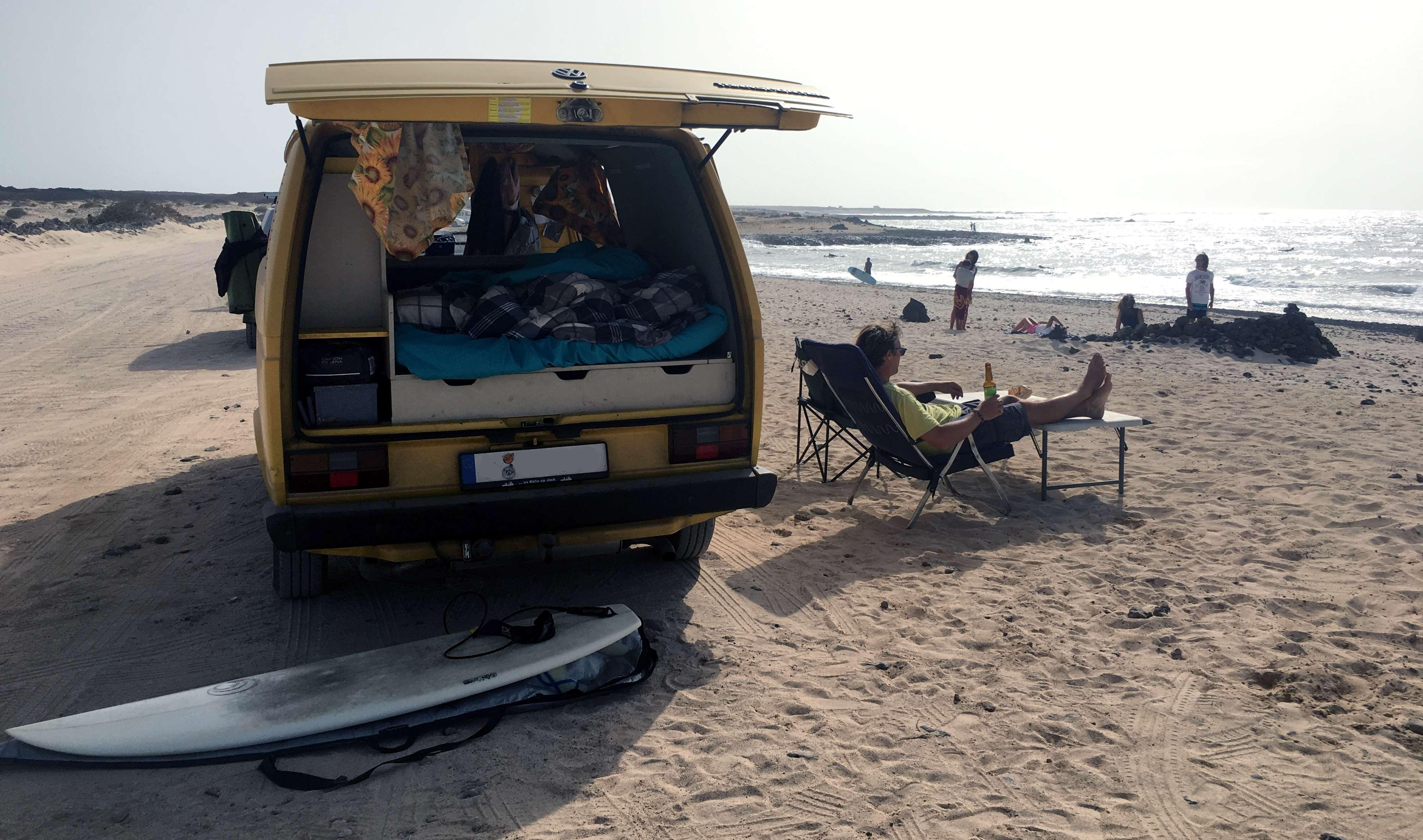 El Cotillo surfen: Sehenswürdigkeiten auf Fuerteventura