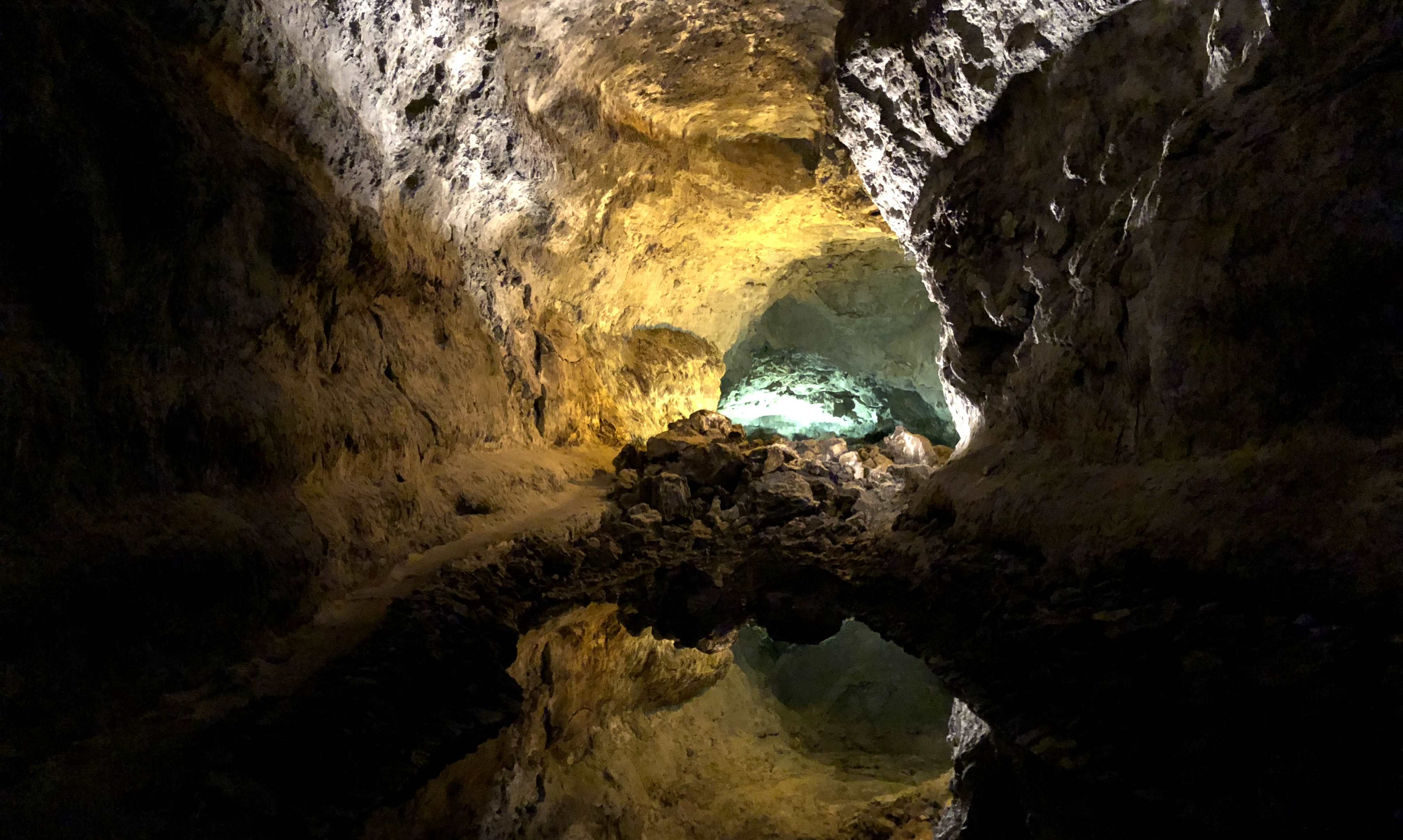 Lanzarote Sehenswürdigkeiten: Cueva de los Verdes