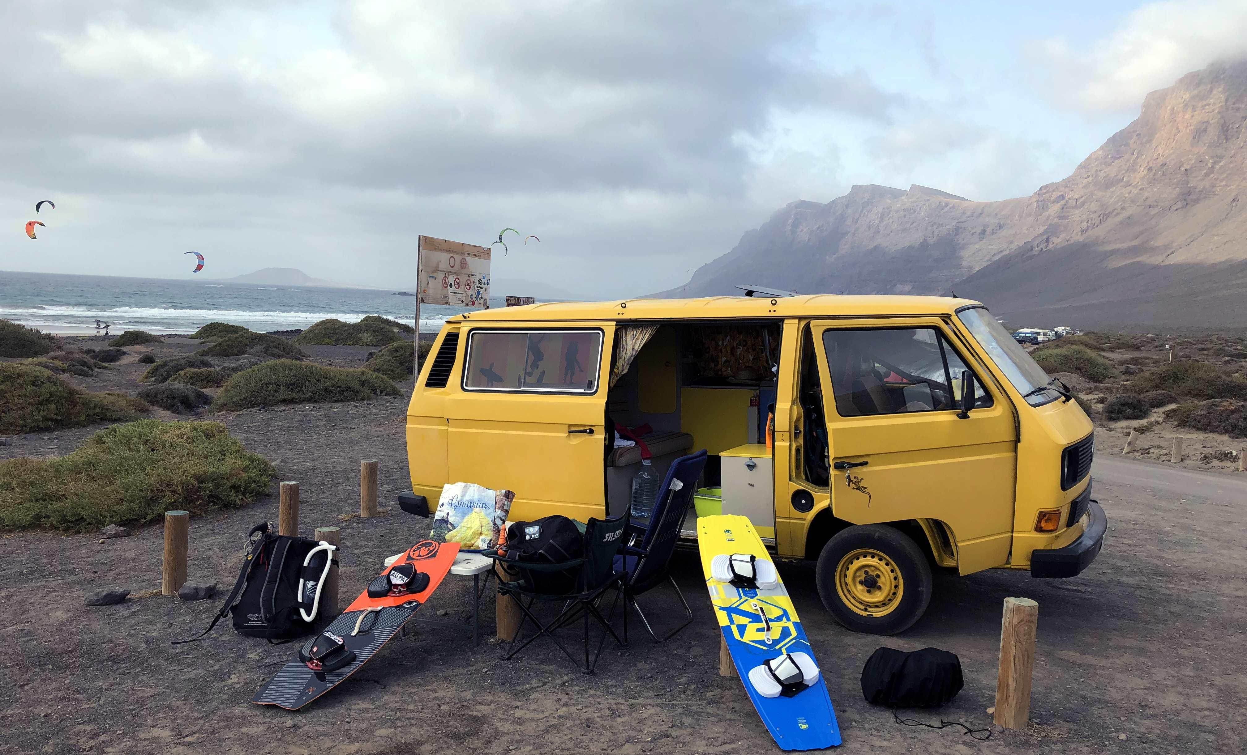 Lanzarote Sehenswürdigkeiten: Playa Famara