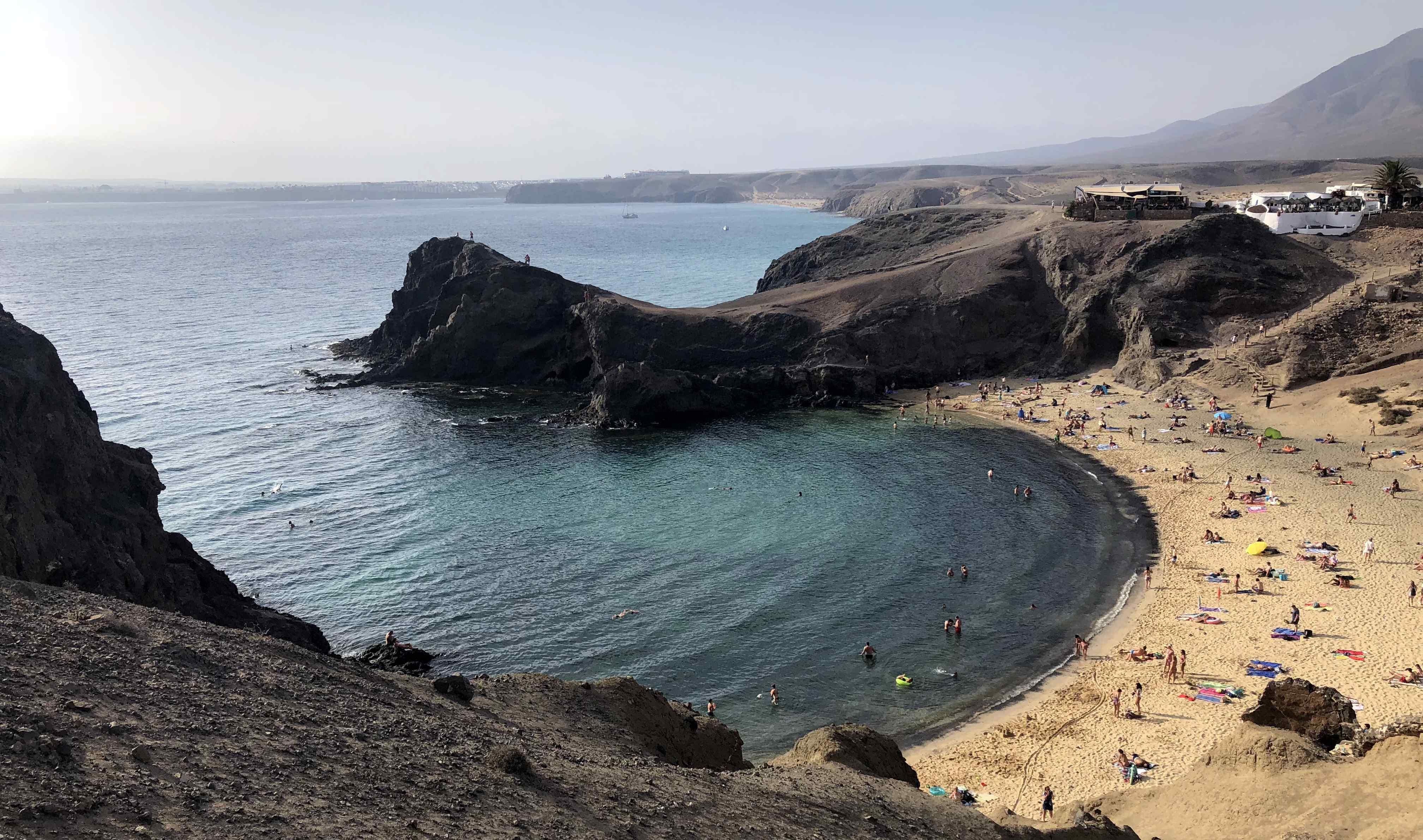 Lanzarote Sehenswürdigkeiten: Playa Papagayo
