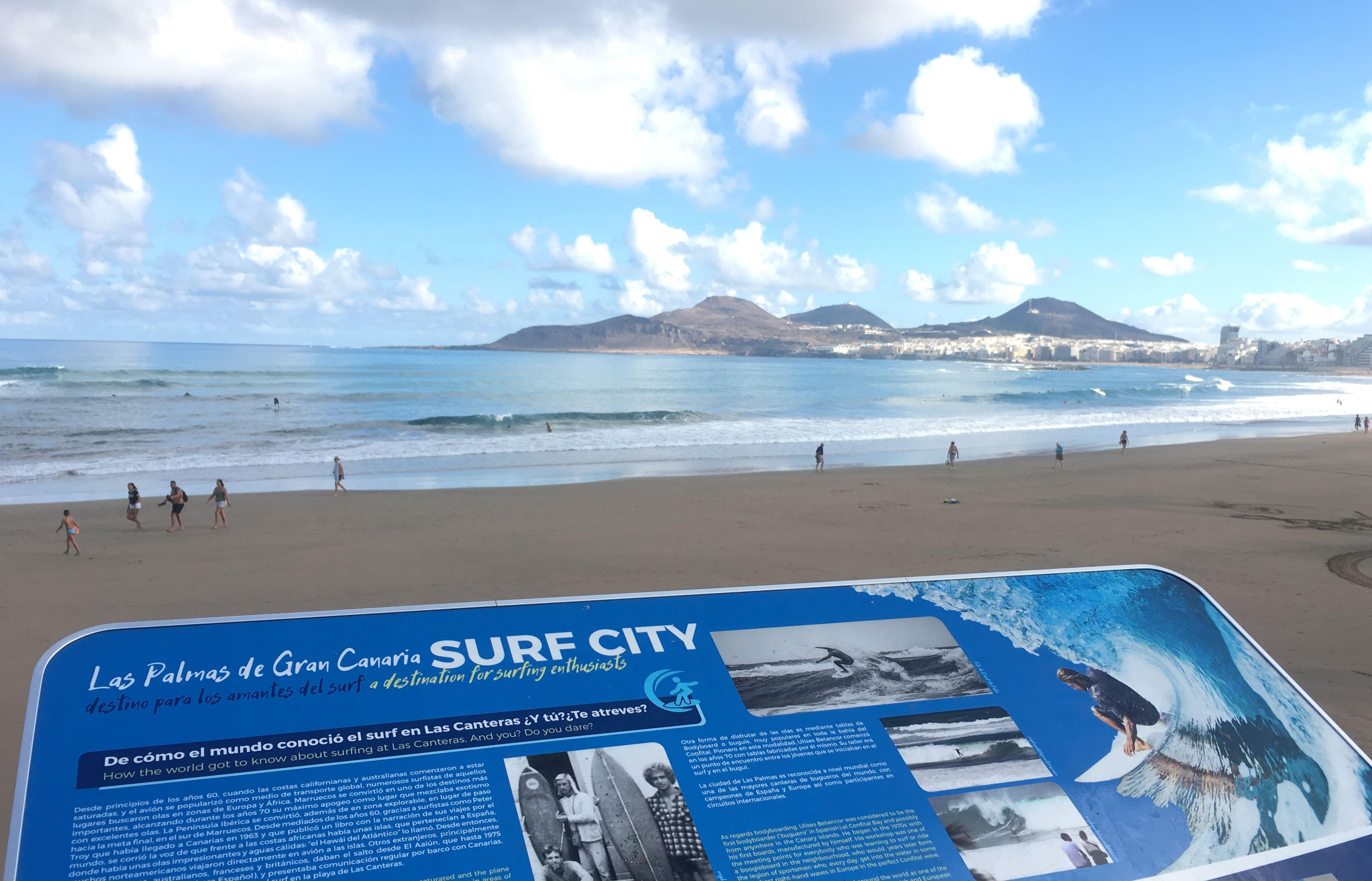 Surfen in Las Palmas