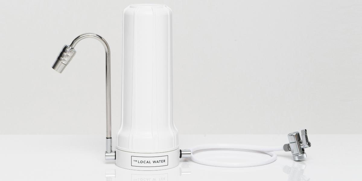 The Local Water: Der patentierte Wasserfilter
