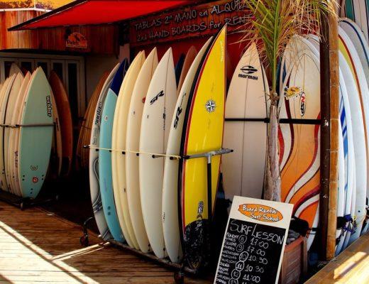 Surfen auf Teneriffa - nach Feierabend möglich bei der Workation 2019