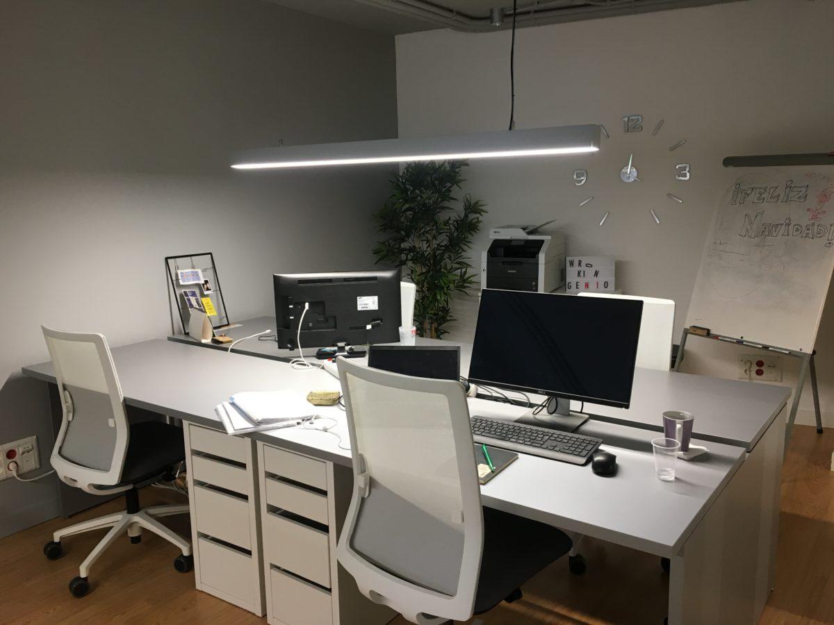 Coworking Space in Santa Cruz, der Hauptstadt von Teneriffa