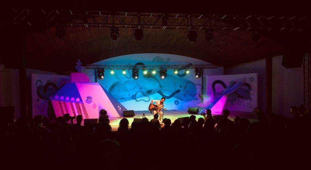 Musik beim Boreal Festival auf Teneriffa