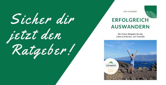 Ratgeber für Deutsche auf Teneriffa - Buch übers Auswandern auf die Kanaren