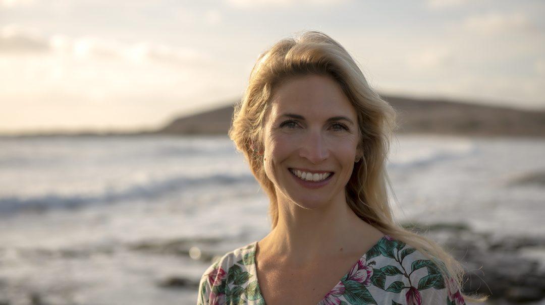 Digitale Nomadin und Auswanderin Eva auf Teneriffa