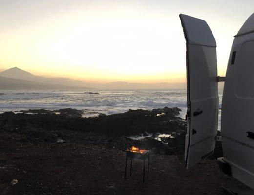 Wildcampen auf Teneriffa