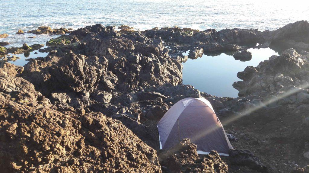 Wildcampen auf Teneriffa: Wildes zelten ist auf Teneriffa nicht erlaubt.