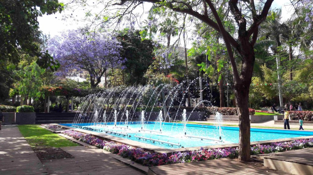 Santa Cruz auf Teneriffa hat viele Parks