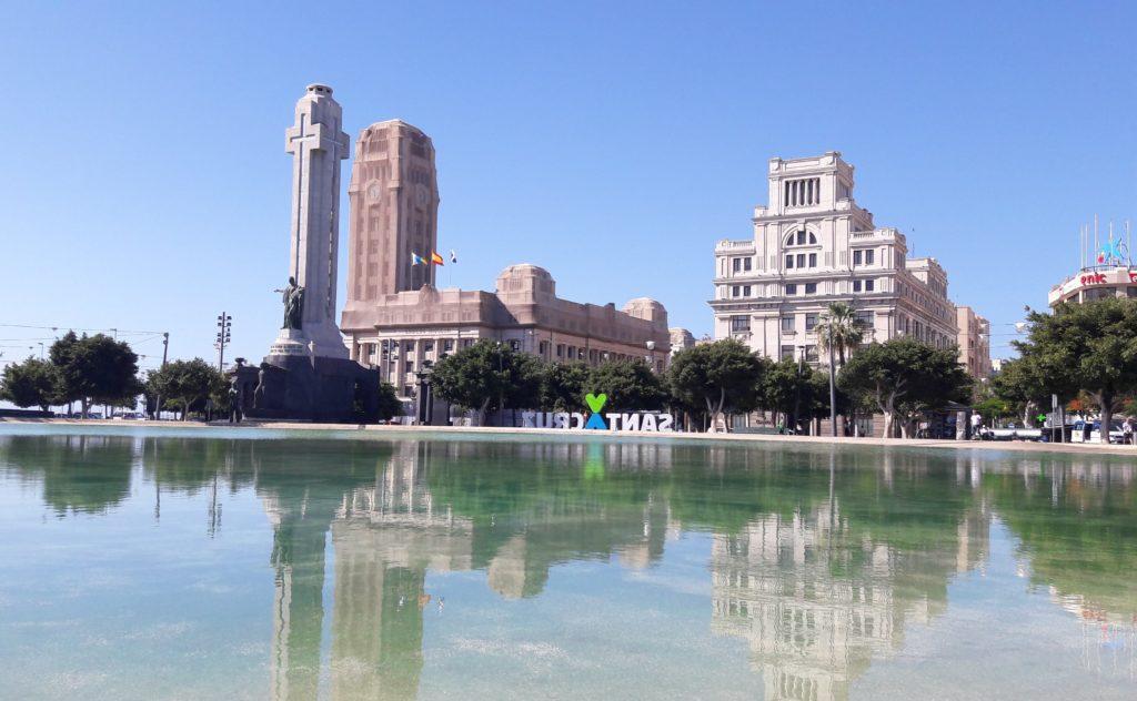Santa Cruz auf Teneriffa mit dem Plaza de Espana