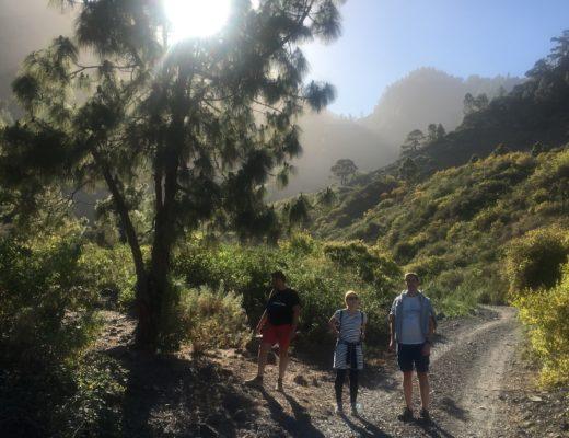Wandern nach getaner Arbeit bei der Workation auf Teneriffa