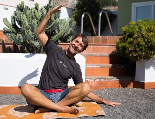 Pilates-Trainer Frank berichtet über seine Erfahrungen als Auswanderer auf Teneriffa