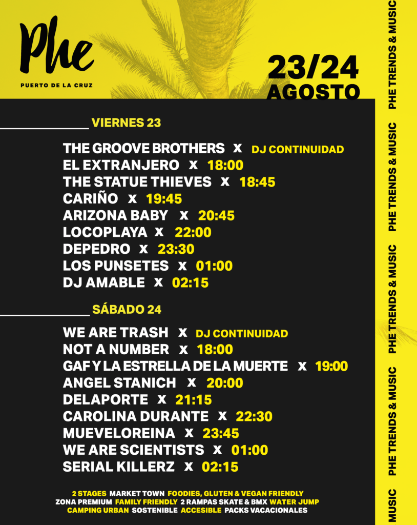 phe festival 2019 teneriffa