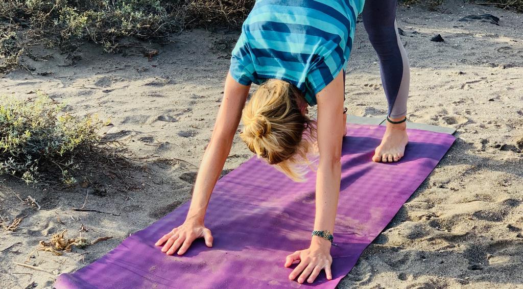 Eva - Yogalehrerin auf Teneriffa