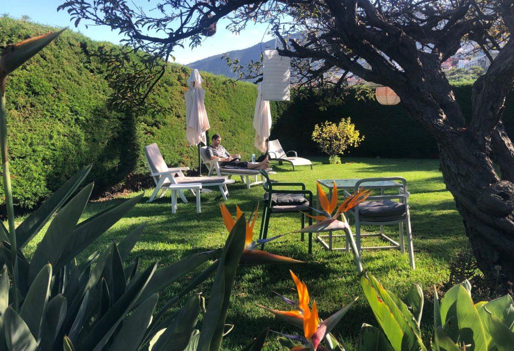 Workation Teneriffa Villa mit Garten
