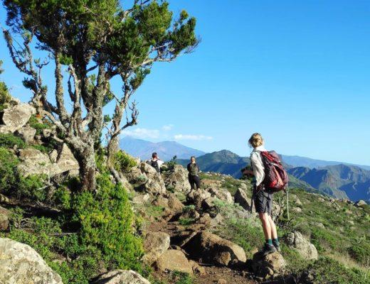 Wanderung im Teno Gebirge auf Teneriffa