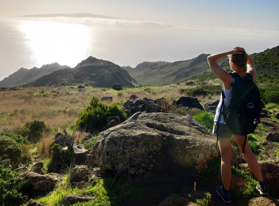 Wanderung während der Workation auf Teneriffa