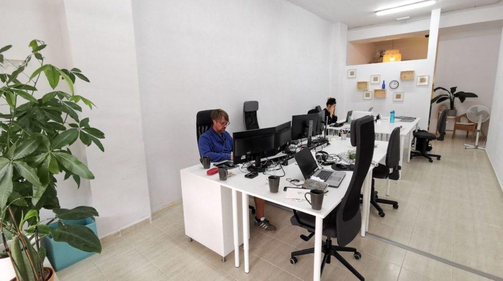 Coworking in El Medano Work 'n Mates innen