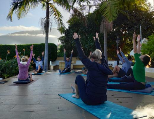 Yoga auf Teneriffa