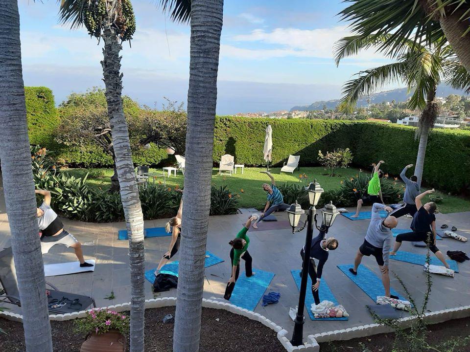 Yoga Unterricht auf Teneriffa