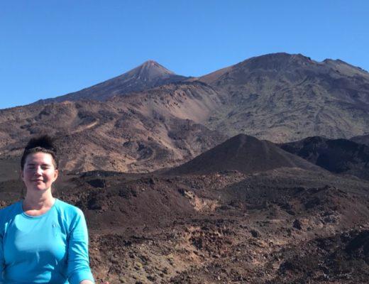 Tania liebt ihr Teneriffa, besonders den Teide